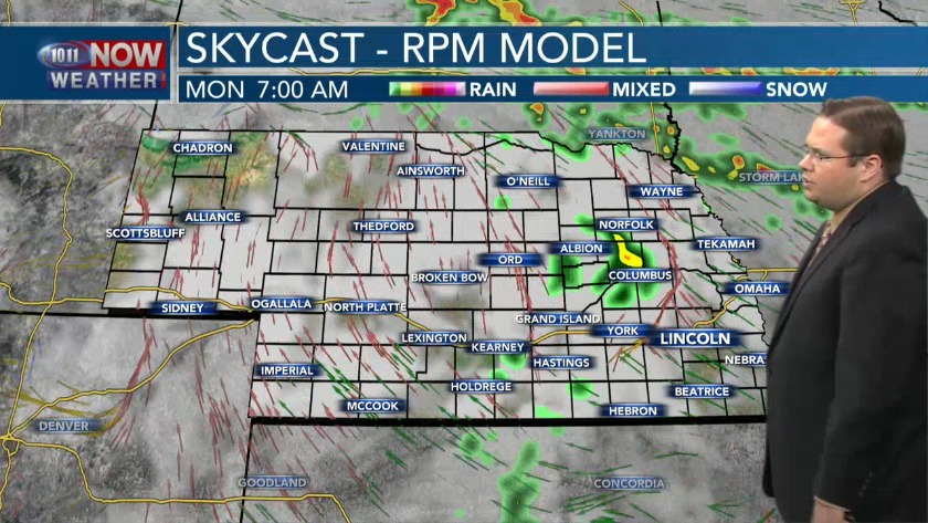 Active Weather Pattern For The First Half of The Upcoming Week