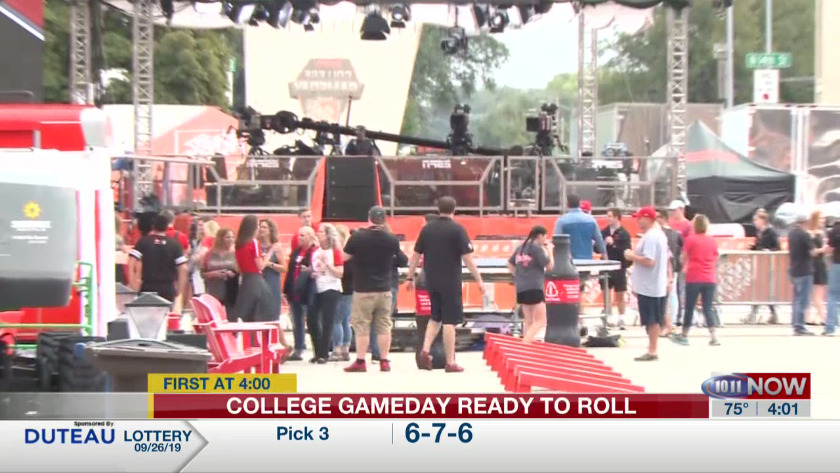 College GameDay hosts talk about being back in Nebraska