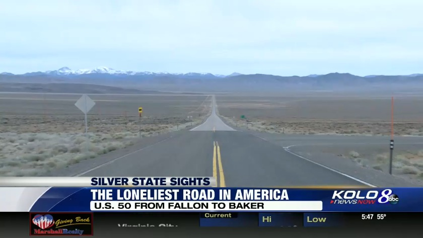 Silver State Sights: The Loneliest Road in America on