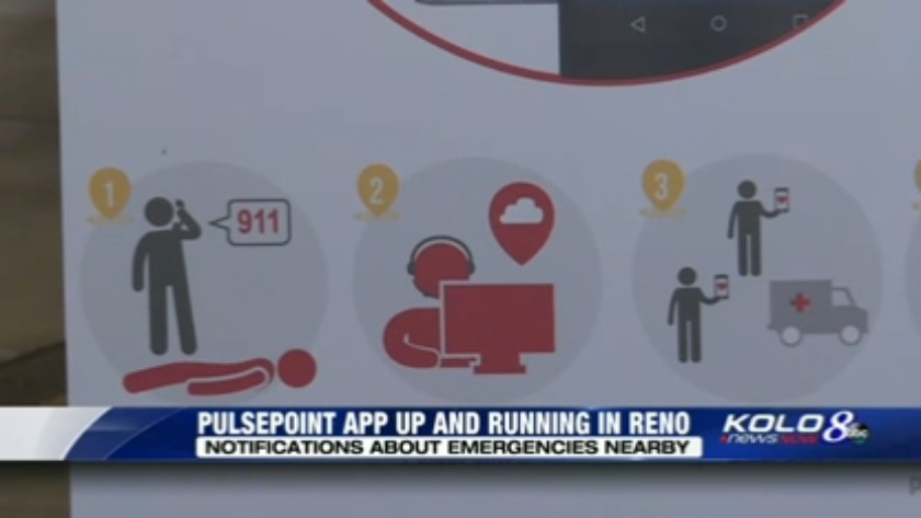 Reno Fire Department Hopes New App Will Help Save Lives