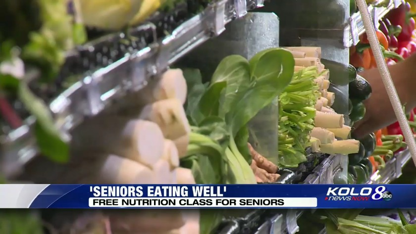 Free nutrition classes offered for seniors