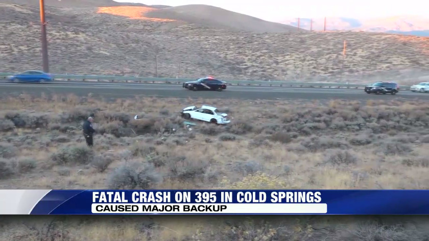 Fatal Crash on 395