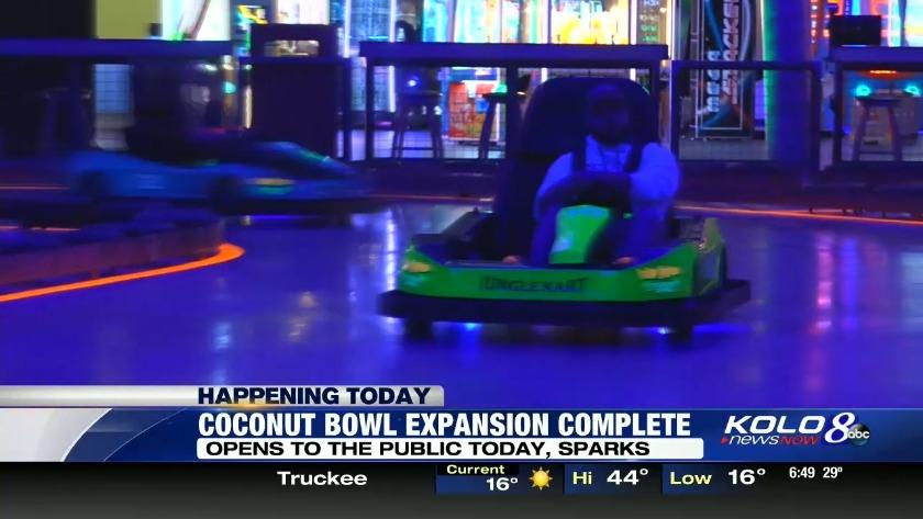 Go Karts Reno >> Coconut Bowl Expansion Opens