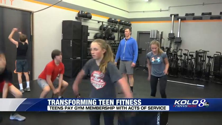 Simply of teen gym memberships