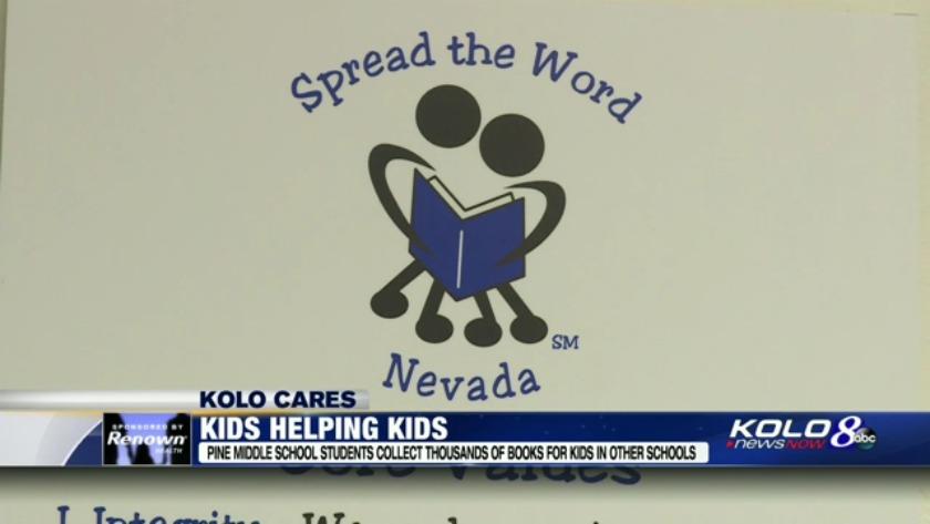 Pine Middle School helps spread joy of reading