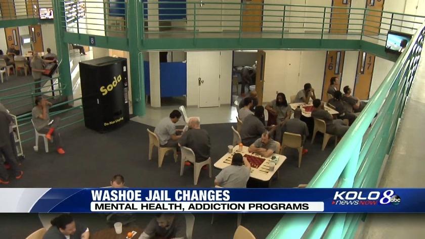 Changes at jail: Mental health, addiction programs