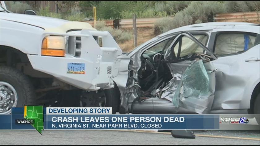 Crash On North Virginia St Turns Fatal