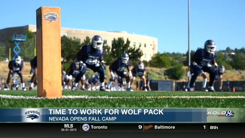 Wolf Pack Already Gelling at Fall Camp