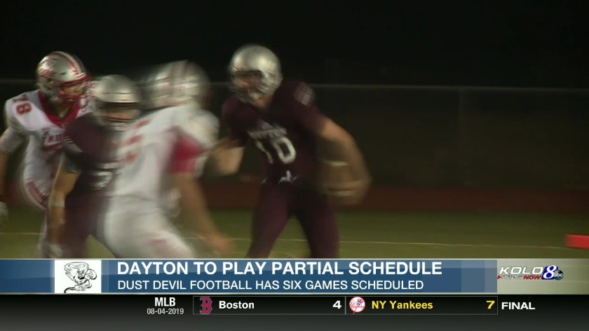 Dayton to Play Partial Schedule in 2019