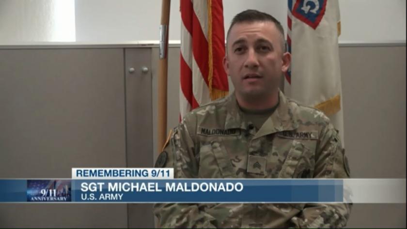 Local military member remembers 9/11