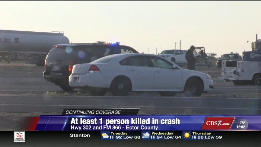 At least one person killed in Highway 302 crash