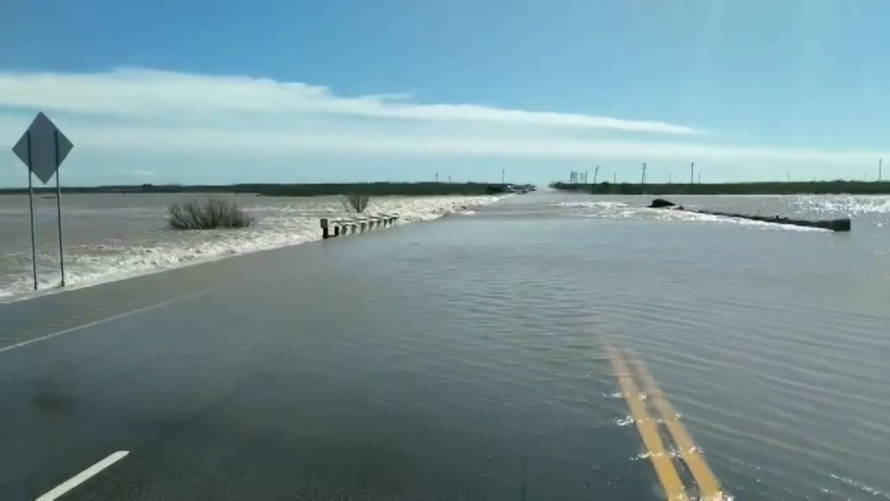 Garden City Highway remains closed following flooding