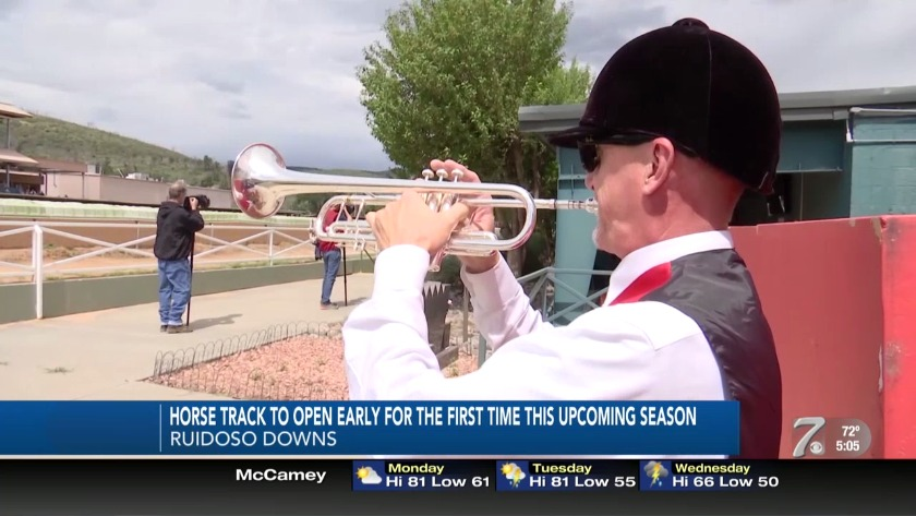 Ruidoso Downs Race Track to open its gates early for first