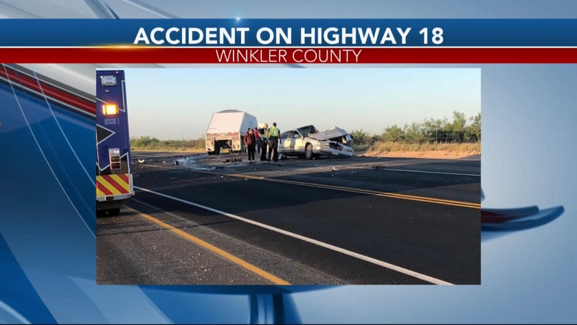 Highway 18 south of Kermit reopened following deadly crash
