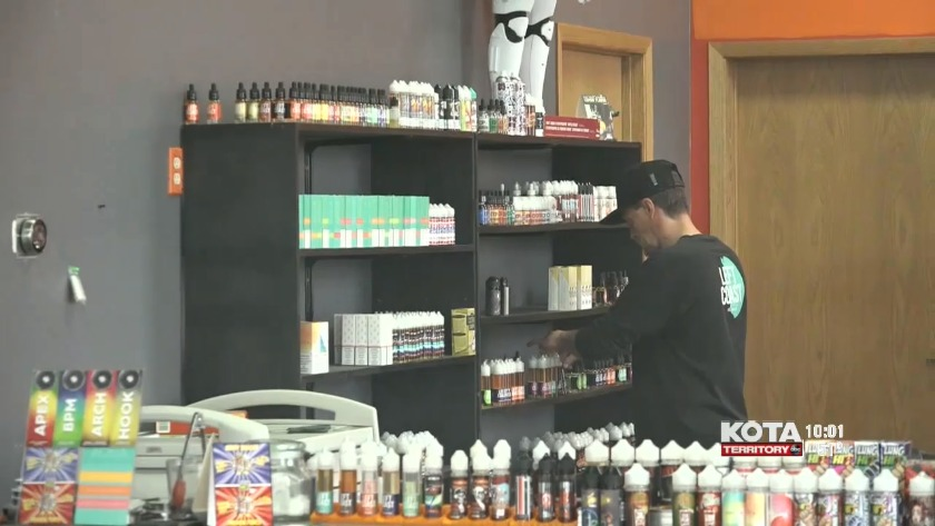 Local vape shop looks out for consumers looking to buy CBD