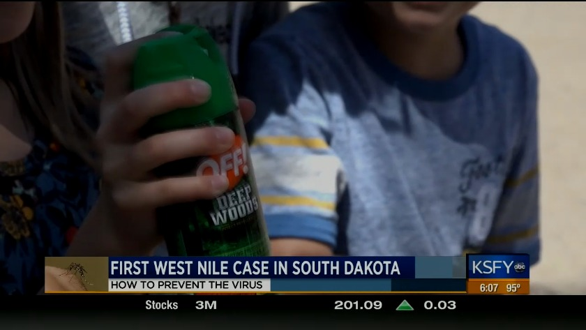 First case of West Nile virus detected in South Dakota