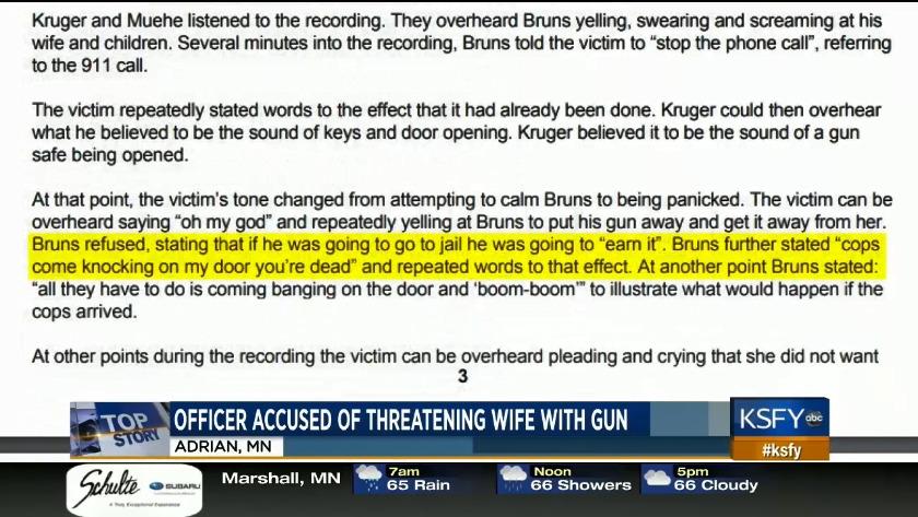Minnesota police officer arrested for assaulting