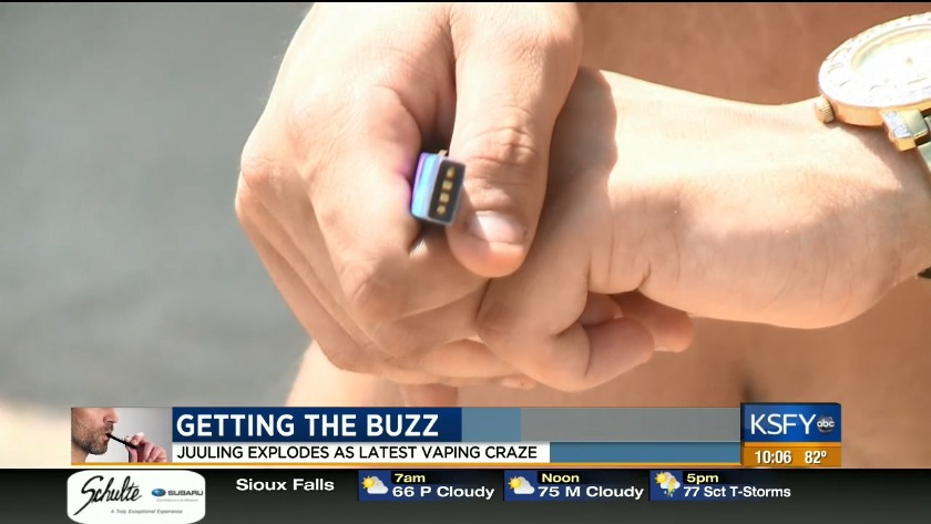Getting the buzz: juuling explodes as latest vaping craze