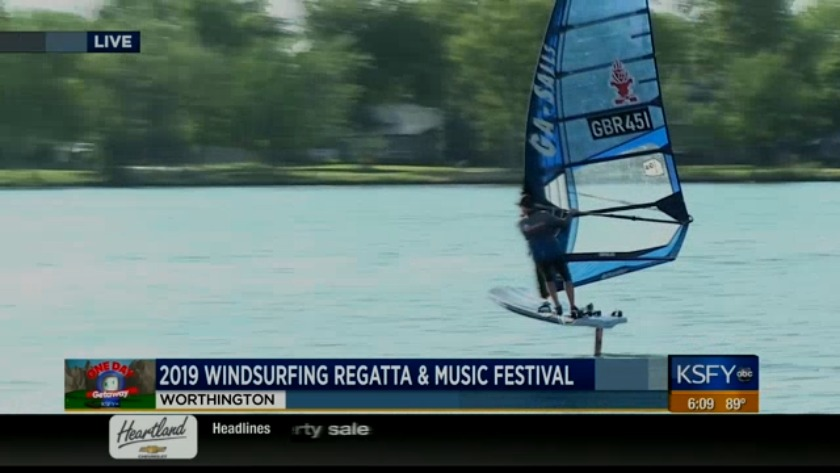 Worthington hosts 2019 Windsurfing Regatta & Music Festival