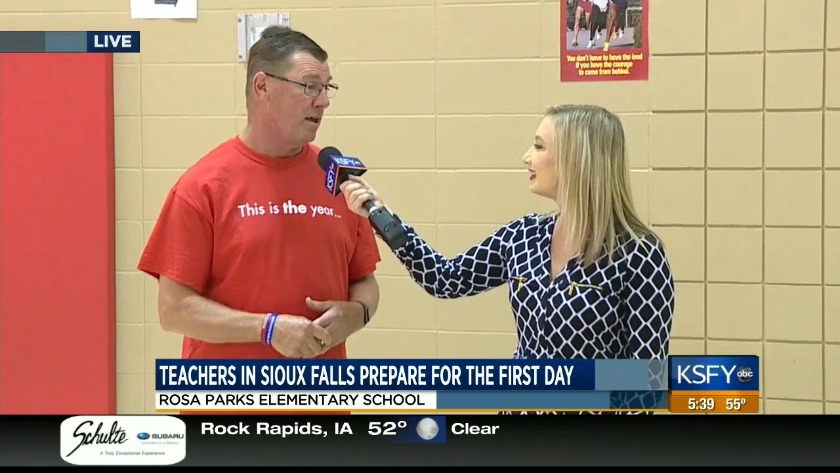 Teachers, students prepare for the first day of school at