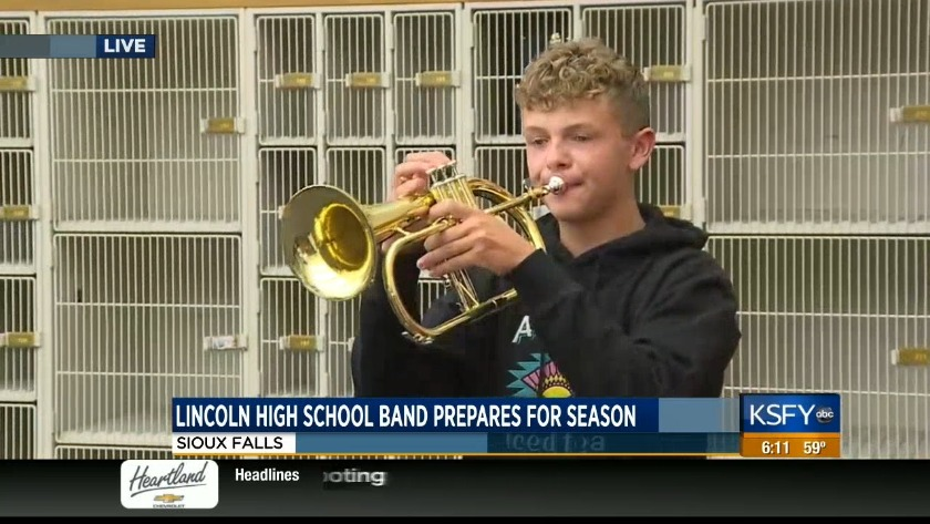 Lincoln High School Marching Band prepares for another big year