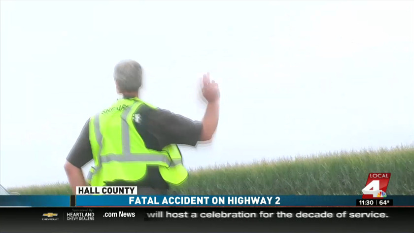 Fatal car accident in Hall County