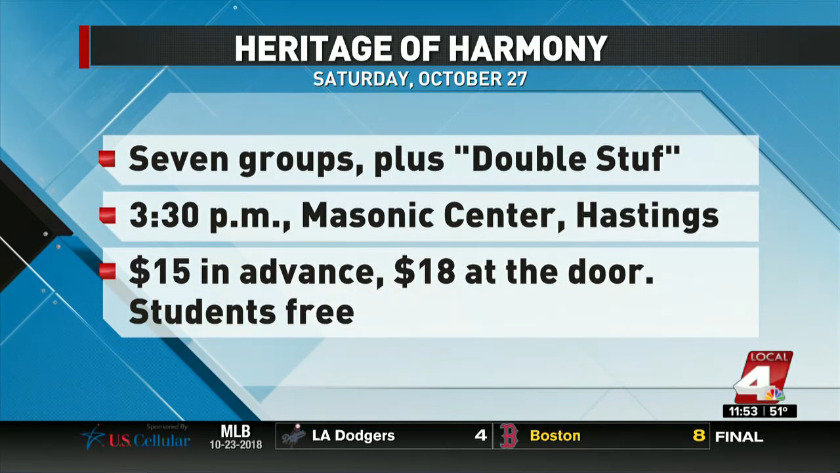 Heritage of Harmony next up for Chorus of the Plains