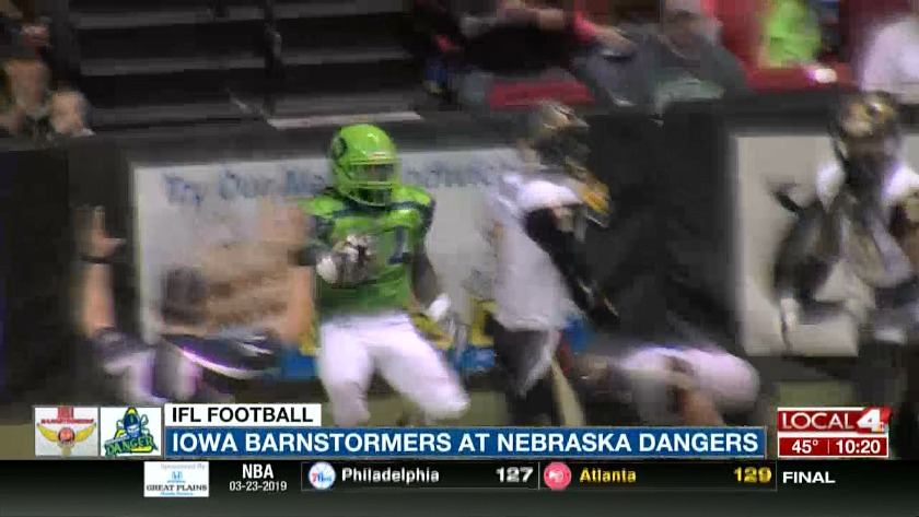 Iowa Barnstormers at the Nebraska Danger