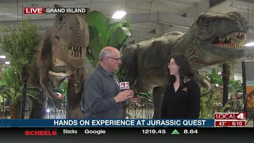 Jurassic Quest brings dinosaurs to central Nebraska