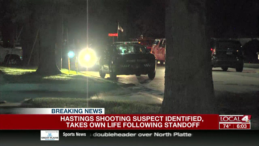 Hastings standoff ends early Thursday