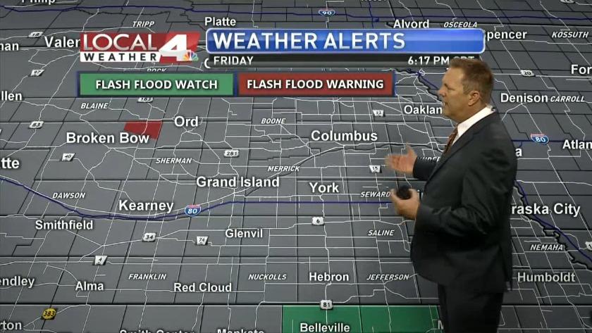 Travis' Monday Morning Forecast