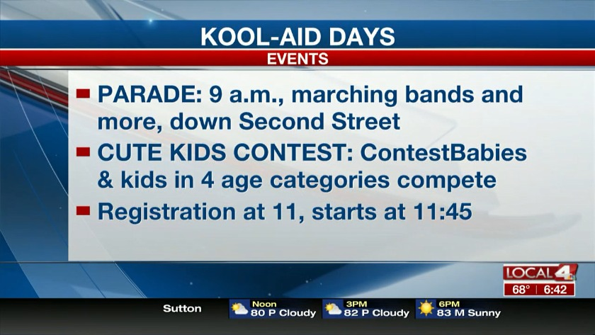 Cute Kids Contest and more at Kool-Aod Days