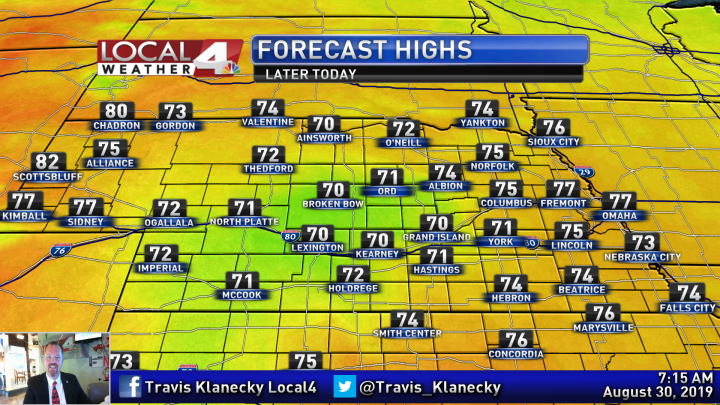 Travis' Friday Morning Forecast