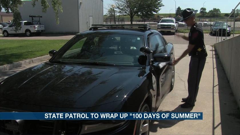 Nebraska State Patrols wraps up 100 Days of Summer campaign