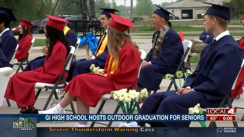 Gi High School Hosts Outdoor Graduation Ceremony For Class Of 2020