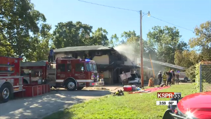 UPDATE: 2 questioned in Camdenton motel fire investigation