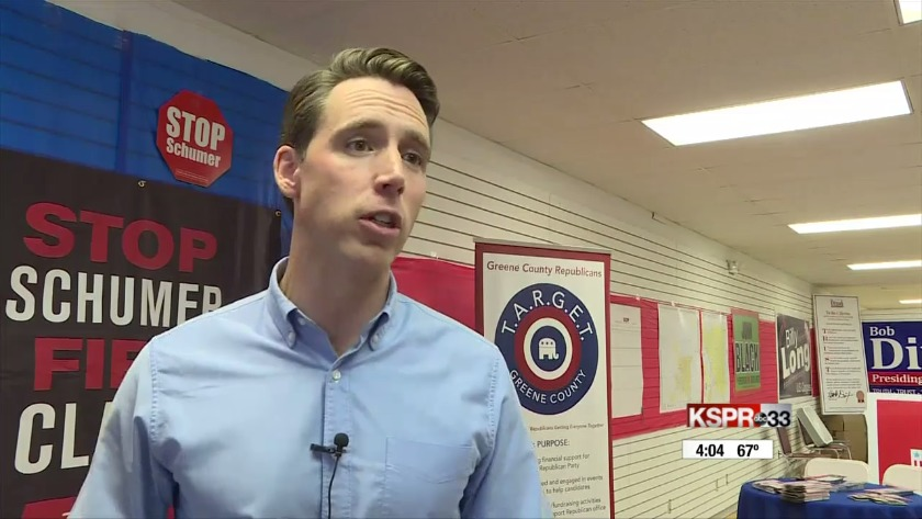 Josh Hawley responds to criticism about his job as attorney