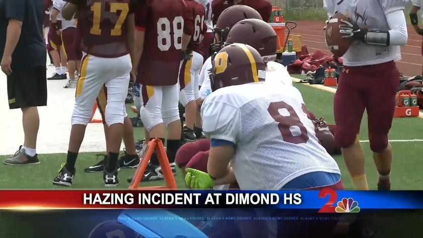 Football sexual hazing incident