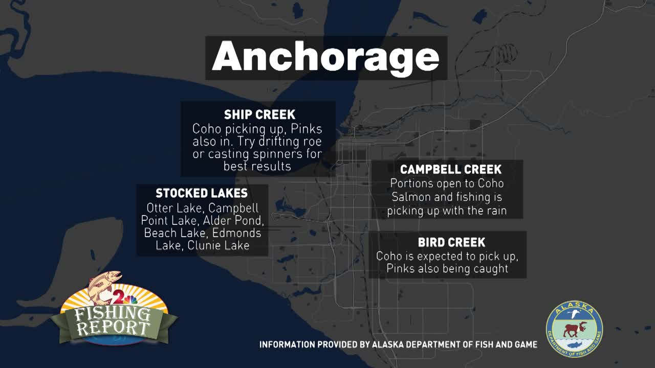 The Fishing Report: August 1, 2019