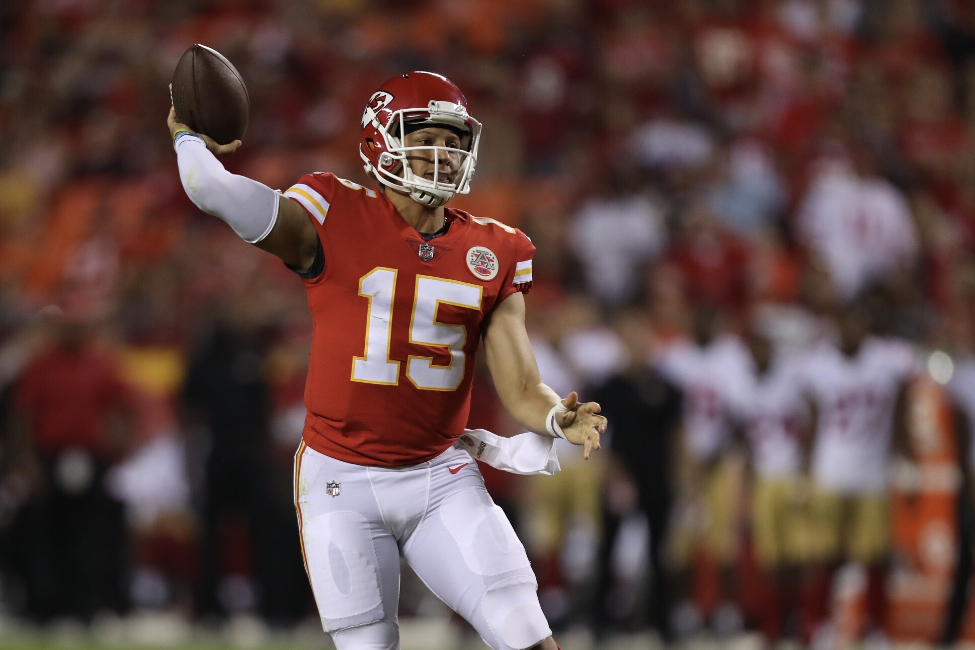 View expert consensus rankings for Patrick Mahomes Kansas City Chiefs read the latest news and get detailed fantasy football statistics