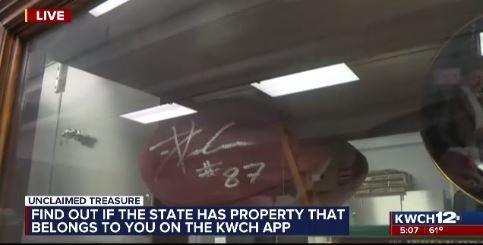 KS state treasurer works to reunite unclaimed properties