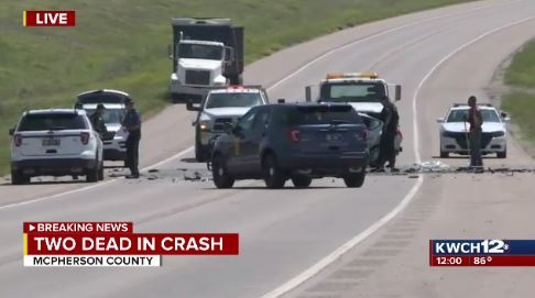 2 killed in head-on collision in McPherson County