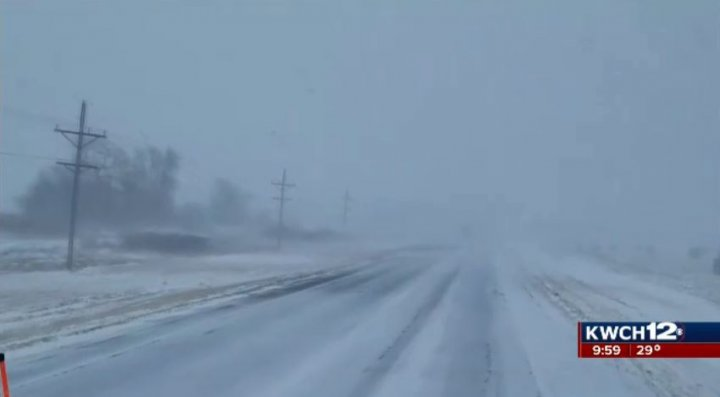 Patrol works 29 crashes, 1 fatal, as blizzard hits Kansas