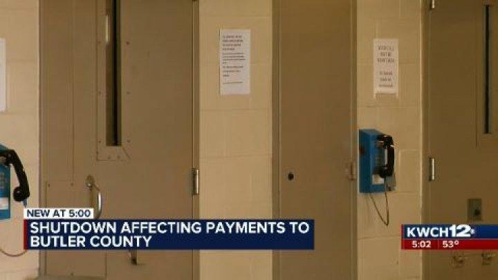 Gov  shutdown impacts county jails housing federal inmates