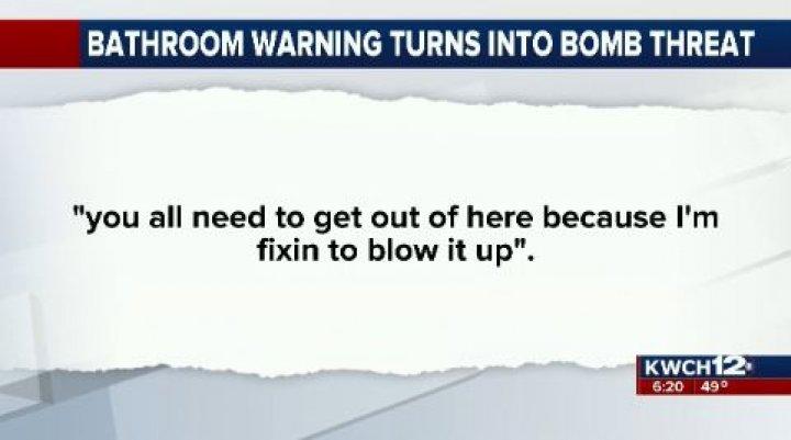 Bathroom Warning Mistaken For Bomb Threat At Home Depot