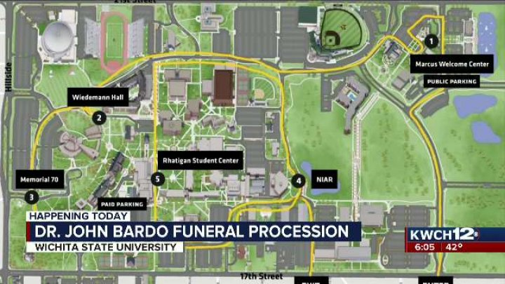 Dr Bardo Funeral Procession To Move Through Wichita State Campus
