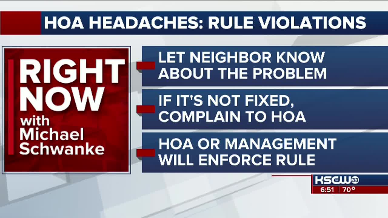 Right Now: HOA Headaches