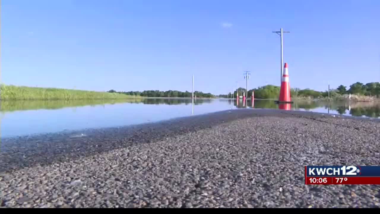 Highway south of Sterling remains closed due to flooding, damage