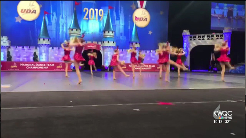 Davenport dance team places first at nationals
