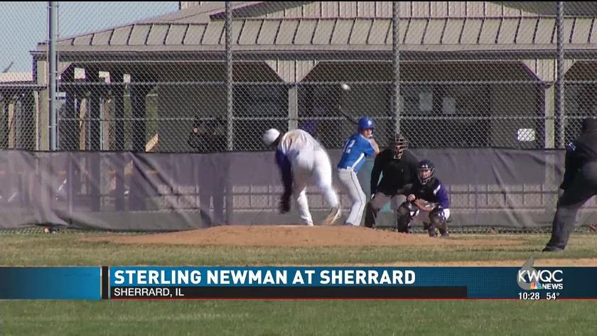 Sterling Newman At Rockridge Baseball